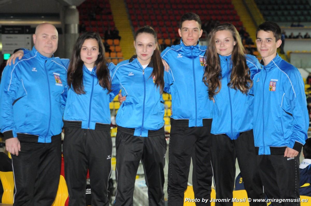 SCM Brno na ME mládeže EKF 2016