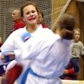 Aneta Šabová v boji