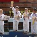 Nicole Michalicová-2.místo, Eliška (vpravo)-3.místo