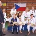 naši medailisti s trenérem Jaromírem Musilem