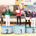 1.místo v kumite - Aneta Šabová