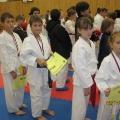vyhlašování vítězů - zleva Ondřej, Nikola, Michaela, Nicole